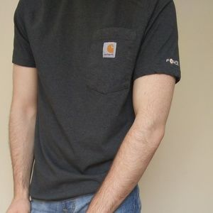 Carhartt Force Relaxed Fit Gray Shirt 💪😜